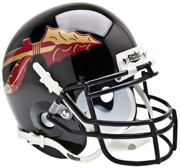 Florida State Seminoles Black Mini Helmet