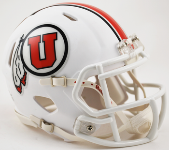 Utah Utes Mini Speed Football Helmet