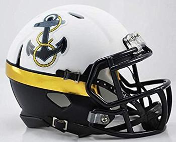 Navy Midshipmen Mini Speed Football Helmet