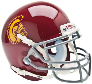 USC Trojans Mini Football Helmet
