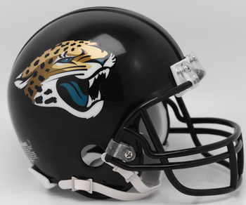 Jacksonville Jaguars Mini Football Helmet