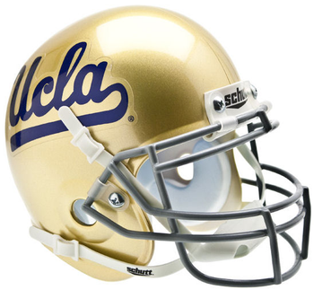 UCLA Bruins Mini Authentic Schutt Helmet