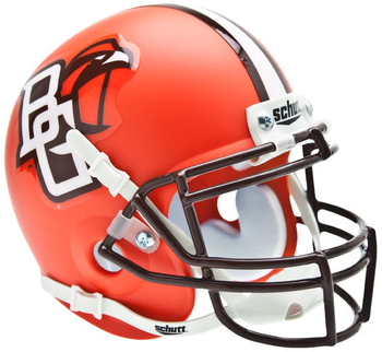 Bowling Green Falcons Mini Authentic Schutt Helmet