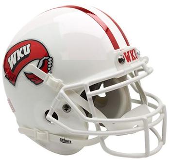 Western Kentucky Hilltoppers Mini Authentic Schutt Helmet