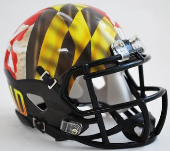 Maryland Terrapins Mini Speed Football Helmet