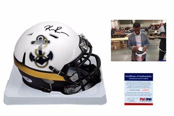 Keenan Reynolds Autographed Navy Midshipmen Mini Helmet - PSA DNA Authentic