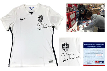 Carli Lloyd Autographed Signed Team USA Nike Dri-Fit Jersey - PSA DNA