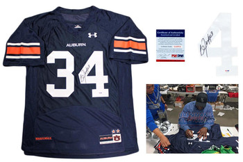 Bo Jackson Autographed Signed Auburn Tigers Jersey - PSA DNA Authentic - UA