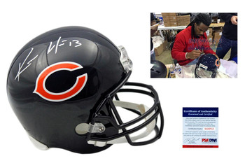 Kevin White Autographed Chicago Bears Full Size Rep Helmet - PSA DNA Authentic