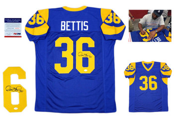 cheap for discount 47246 b2138 Jerome Bettis Autographed Signed Jersey - Beckett Authentic ...