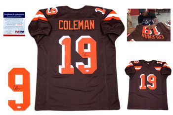 Corey Coleman Autographed Signed Jersey - PSA DNA Authentic