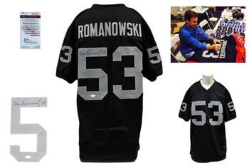 Bill Romanowski Autographed Signed Jersey - Black - PSA DNA Authentic