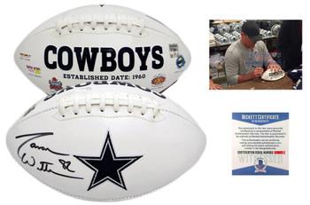 Jason Witten Autographed Signed Dallas Cowboys Logo Football - JSA Authentic