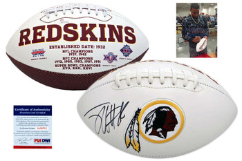 Jordan Reed Autographed Signed Washington Redskins Football - PSA Authentic