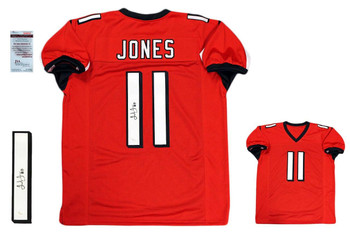 Julio Jones Autographed Signed Jersey - JSA Witnessed Authentic - Red