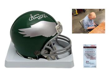 Sonny Jurgensen Autographed Signed Philadelphia Eagles Mini Helmet - JSA Authentic