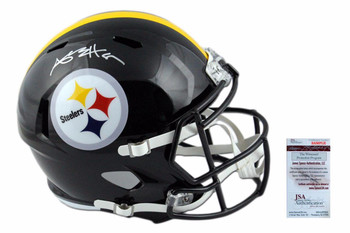 Pittsburgh Steelers Antonio Brown Autographed Speed Helmet - JSA Authentic