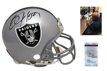 Bo Jackson Signed Oakland Raiders Authentic Helmet