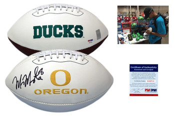 Marcus Mariota Autographed Signed Oregon Ducks  Football - PSA DNA