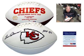 Len Dawson Autographed Signed Kansas City Chiefs Football - PSA Authentic