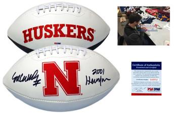 Eric Crouch Signed Nebraska Cornhuskers Football - PSA DNA