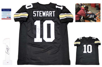 Kordell Stewart Autographed Signed Jersey -PSA Authentic - College