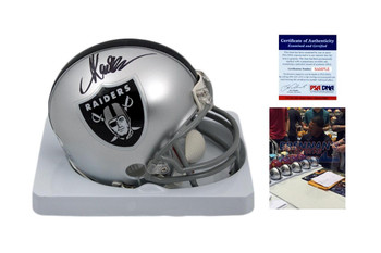 Marcus Allen Autographed Signed Oakland Raiders Mini Helmet - PSA Authentic