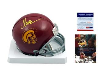 Marcus Allen Autgoraphed Signed USC Trojans Mini Helmet