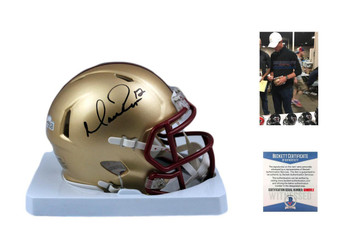 Matt Ryan Autographed Signed Boston College Mini Helmet - Beckett Authentic