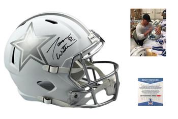 Jason Witten Autographed Signed Dallas Cowboys Full Size Speed ICE Helmet - Beckett