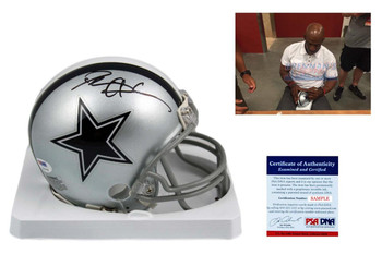 Deion Sanders Autographed Signed Dallas Cowboys Mini Helmet