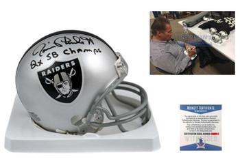 Jim Plunkett Autographed Signed Oakland Raiders Mini Helmet
