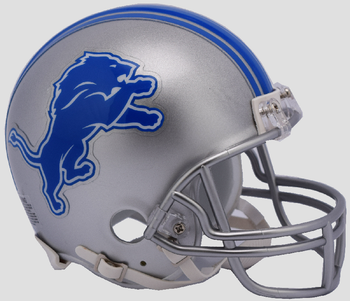 Detroit Lions NFL Mini Football Helmet 2017