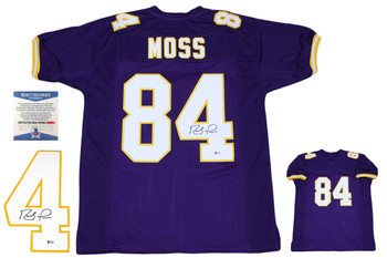 Randy Moss Autographed Signed Jersey