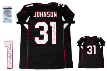 David Johnson Autographed Signed Jersey - JSA Witnessed - Black