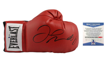 Floyd Mayweather Autographed Signed Everlast Boxing Gloves - Beckett