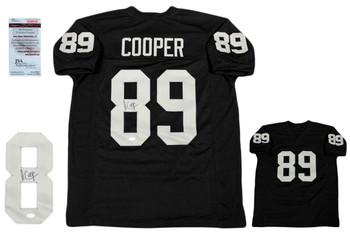 Amari Cooper Autographed Signed Jersey - JSA Witnessed - Black