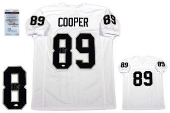 Amari Cooper Autographed Signed Jersey - JSA Witnessed - White