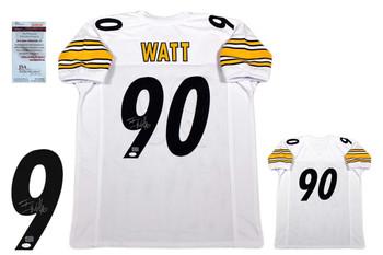 TJ Watt Autographed Signed Jersey - JSA Witnessed - White