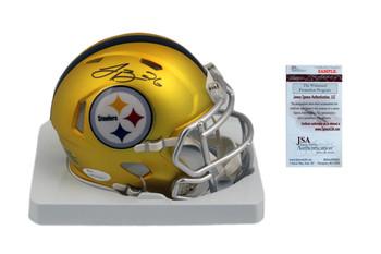 Leveon Bell Autographed Signed Steelers Speed Blaze Mini Helmet
