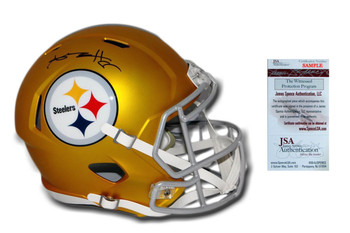Antonio Brown Autographed Signed Steelers Speed Blaze Helmet
