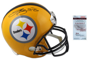 Leveon Bell Autographed Signed Steelers Throwback Helmet