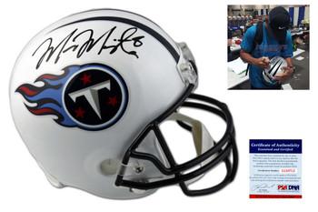 Marcus Mariota Autographed Signed Tennessee Titans Full Size Helmet