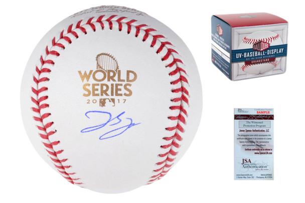George Springer Autographed Signed 2017 World Series Baseball