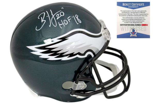 Brian Dawkins Autographed SIGNED Philadelphia Eagles Helmet ... 9a141ac56