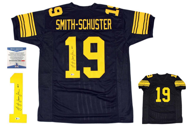 cd875ced72e JuJu Smith-Schuster Signed Jersey - Beckett Authentic - Throwback ...