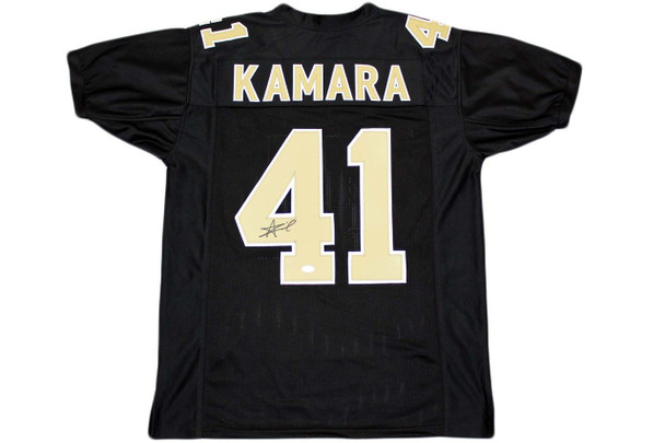 Alvin Kamara Autographed Signed Jersey - Beckett Authentic - Black