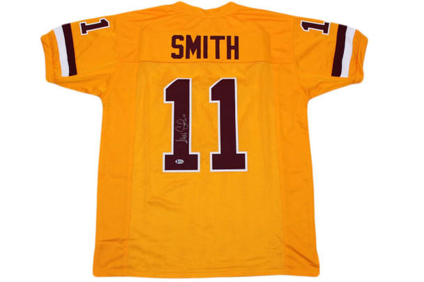 Alex Smith Autographed Signed Jersey - Gold - Beckett Authentic