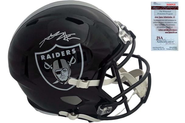 Oakland Raiders Antonio Brown Autographed Custom Speed Helmet