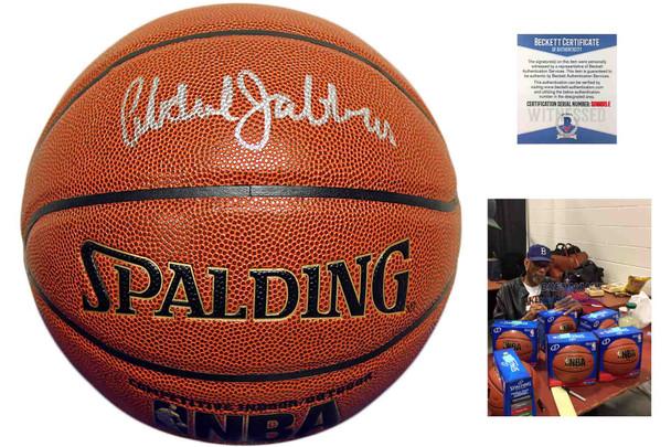 Kareem Abdul-Jabbar Autographed Signed Spalding Basketball - LA Lakers - Beckett